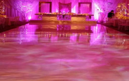 light up dance floor rental