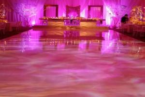 light up dance floor rental