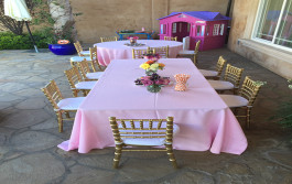 Kids Table Decoration