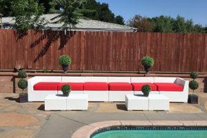 Outdoor Furniture Rentals