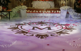 wedding dance floor rentals la