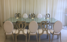 White Chairs Decoration