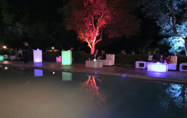 Night Pool Party