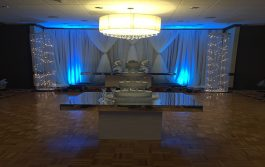 wedding table and chiar rentals