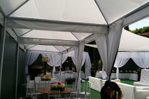 Wedding tenting services