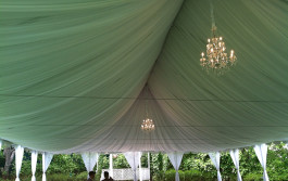 Caterer tenting services