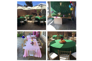Birthday party rental supply